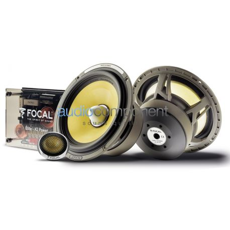 Focal ES 165 KX2 - Altavoces Elite K2 Power para coche