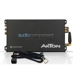 Axton A592DSP - Amplificador DSP 4 canales para coche con transmisión de audio Bluetooth