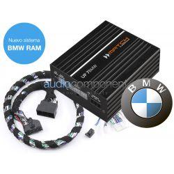 Match UP7BMW-RAM - Sistema HIFI Professional con el nuevo módulo RAM de BMW en el maletero