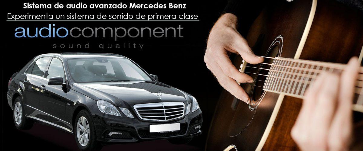 Pioneer Front auto altavoces componentes para mercedes clase e 212//207