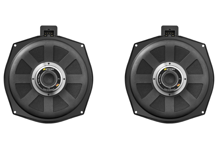 Subwoofers ETON para BMW Plug and Play